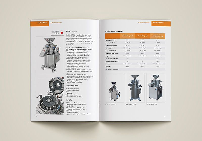 machine brochure