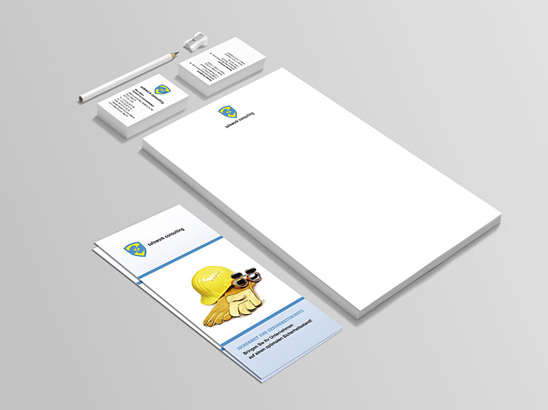 logo design safety company almut m