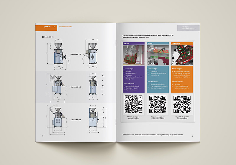 brochure design mechanical engineering