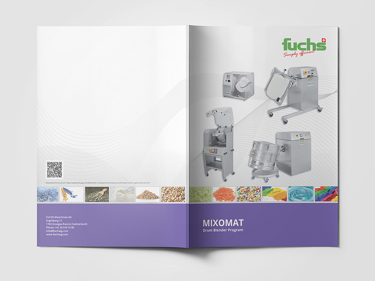 machinery brochure design